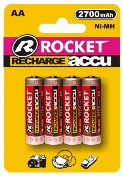 Rocket Digital Akku AA Mignon 2700 mAh Blister 4