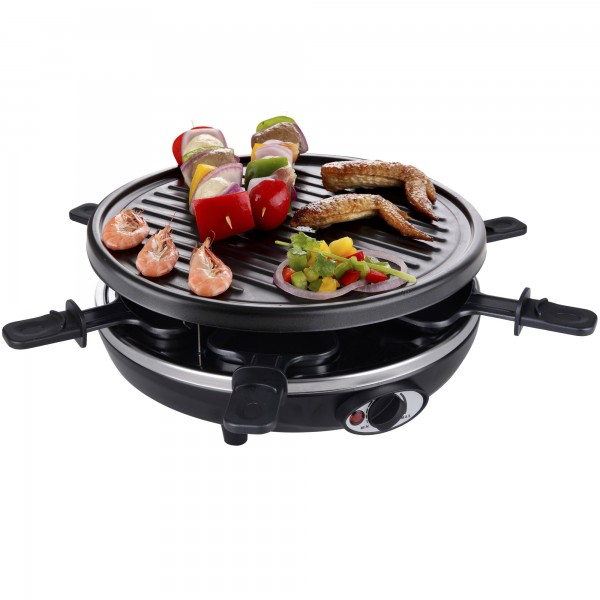 4 in 1 Raclette Crepemaker Grill Pancakemaker