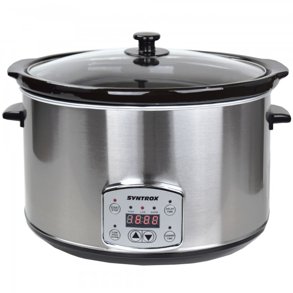 Digitaler Slow Cooker 8,0 Liter mit Timer